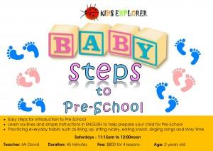 Baby Steps to Pre-School